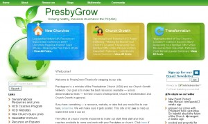 Designed for the Presbyterian Church (USA) Office of Evangelism and Growth